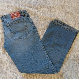 Lucky Brand mid-rise flare 12/31 Josie jeans